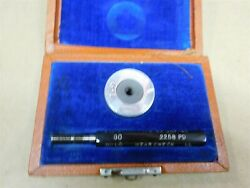Pm Company Pipe Machinery Company 5/16-18 Thread Plug Go Gage And Thread Ring