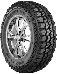 4 New - Mud Claw Extreme Mt Lt235/80r17 E Tire 235 80 17 2358017