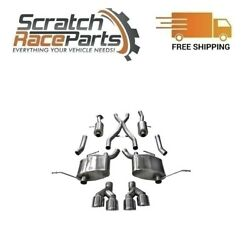 Corsa Cat-back Exhaust System With Quad Rear Exit For 14-21 Jeep 304 Ss 14992