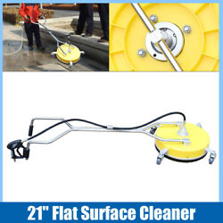 High Pressure Washer Stainless Steel Concrete Surface Cleaner Machine 4000psi