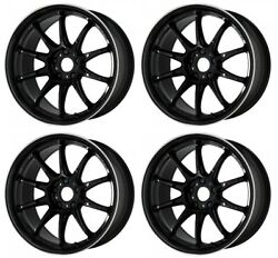 Work Emotion Zr10 19x8.5 +45 +38 +30 5x114.3 Blklc From Japan [order Products]