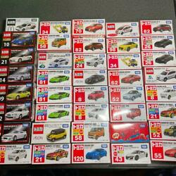 Tomica Normal Premium First Time Not For Sale 40 Units Set Mint