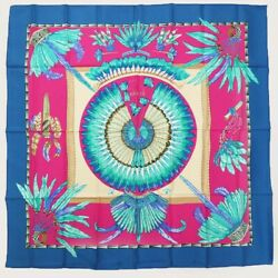 Hermes Scarf Carres 90 Brazil Large Size Apparel Accessory R579-3 Secondh _18328