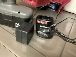 """Craftsman 3/8"""" 18 Volt Cordless Drill-driver Set With Charger And battery"""