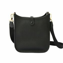 Hermes Evelyn 16 Black Women And039s Secondhand _21688