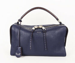Fendi Ray Navy Bag With Strap Used Goods G1740y _40070