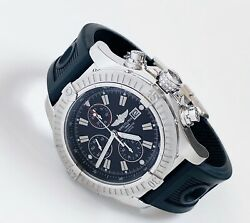 Breitling 1884 Chronograph Automatic Super Avenger A13370 Stainless Steel Watch