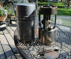 Coleman Camping Stove 530 Complete And Original Military A47