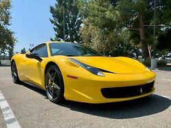 2013 Ferrari 458 Title In Hand - High Msrp - Excellent Condition