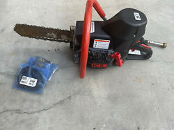 Ics 660gc Concrete Chainsaw With 3 Extra Chains