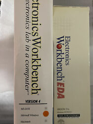Vintage Pc Software Electronics Workbench For Windows Nt 95 3.1 Ms-dos Macintosh