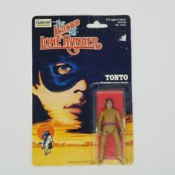 The Legend Of The Lone Ranger Tonto Figure Vintage Collectible