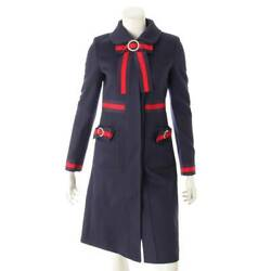 Web Detail Single Coat 475970zhw03 Navy 36 Secondhand Appraised Gua _10146