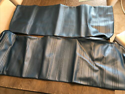 Vintage Blue Vinyl Seat Covers 78 Chevy Luv Pick Up Truck 8