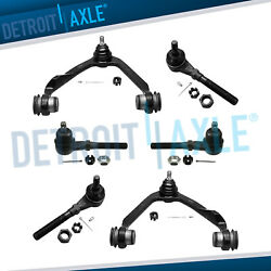4wd Front Upper Control Arms Tierods For Ford Expedition F-150 Lincoln Navigator