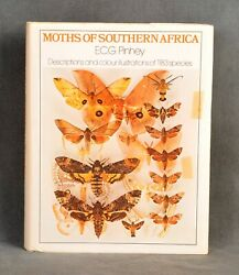 Moths Of Southern Africa First Edition 1975 By E.c.g. Pinhey - Rare Collectible