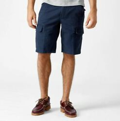 New Webster Lake Classic Cargo Shorts Size 33 Navy Blue A1eg5433