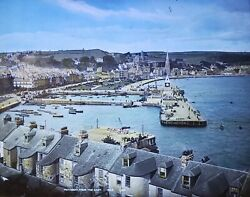 Rothesay Scotland From The East C1890and039s G.w.w. Magic Lantern Glass Slide
