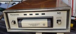 Panasonic Rs-804us 8 Track Tape Stereo Player W/ Manual - Tested - Made In Japan