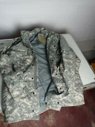 U.s. Army Ucp Field Jacket Cold Weather Med Short 8415015212250 Rare