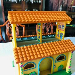 Dora The Explorer Doll House And Furniture Lot Read