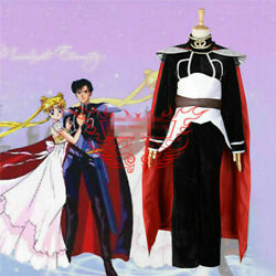 New!sailor Moon Endymion Suits Fighting Cosplay Costume Full Sets@