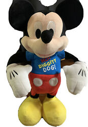 Mickey Mouse Clubhouse Hot Diggity Dog Dancing Plush - Large -tested