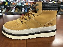 Ugg Highland Sport Menand039s Sizes Light Weight Leather Wheat Boots M1097089