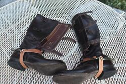 Very Cool 1944 Military Riding Boots By International Shoe Company