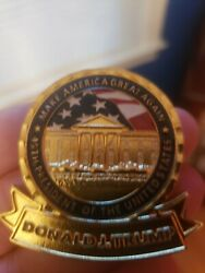 President Trump Official Challenge Coin