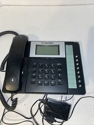 Fortinet Fortivoice Talkswitch Fon 350i Ip Voip Phone Tested No Stand