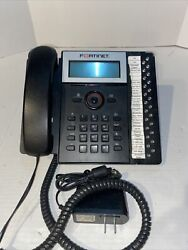 Talkswitch Ts-550i Lcd Voip Ip Poe Phone W/ Stand, Handset, Cable Tested