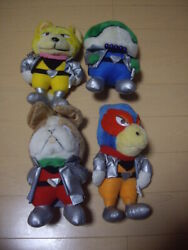 Hired Squadron Star Fox Plush Toy Set Of 4