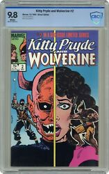 Kitty Pryde And Wolverine 2 Cbcs Not Cgc Nm/mt 9.8 1st Ogun In Mask Costume