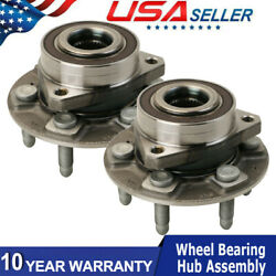 2 Rh Lh Rear Wheel Bearing Andhubs For 17-19 Acadia Xt5 18 19 Enclave Travers Awd