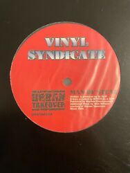 """Vinyl Syndicate - Man Of Steal - The Superman Tune 12"""" Drum And Bass Jungle Vinyl"""