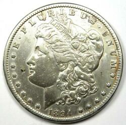 1894-p Morgan Silver Dollar 1 Coin 1894 - Xf Details Cleaned - Rare Date