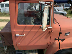 Ford F-600 Louisville Passenger Side Manual Door Red