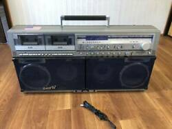 Sharp The Searcher-w Gf-999 Boombox Free Shipping Fast Shipping From Japan