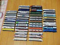 Made In Japan 50 Cars Out Of Print Train Mass Set Die-cast Model