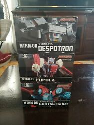 Mtrm-01 Make Toys Cupola 3rd Party Transformers Masterpiece Chromedome