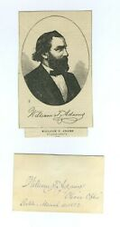Oliver Optic William T. Adams Signed Autographed Slave Uncle Ben Robinson Crusoe