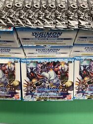 Digimon Tcg Release Special Booster Ver 1.0 + Dash Pack Ver 1.0 English