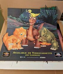 The Land Before Time Iv 4 Standee Movie Cardboard Display