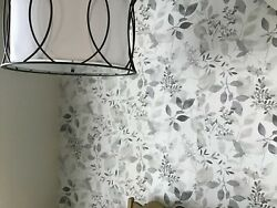 Peel And Stick Wallpaper Gray Forest Wall Furniture Sticker Contact Paper 30 Sq Ft