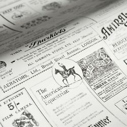 Peel And Stick Wallpaper Retro Newspaper Gray Wall Furniture Contact Paper 30sq Ft