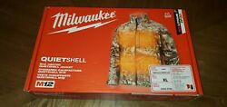 Brand New - Milwaukee M12 Heated Quietshell Jacket - Camouflage Color - Xl
