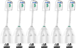 6 Pack Sonic Brush Heads Philips Sonicare Toothbrush Oral Care Replace E Series