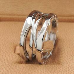 Bvlgari Bee Zero One Ring Legend Bands 54japan Size 13 Free Gift Wrapping _46892