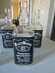 Breakaway Glass Tennessee Whiskey Bottle Movie Prop  Quanity 1